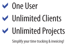 One User, Unlimited Clients, Unlimited Projects